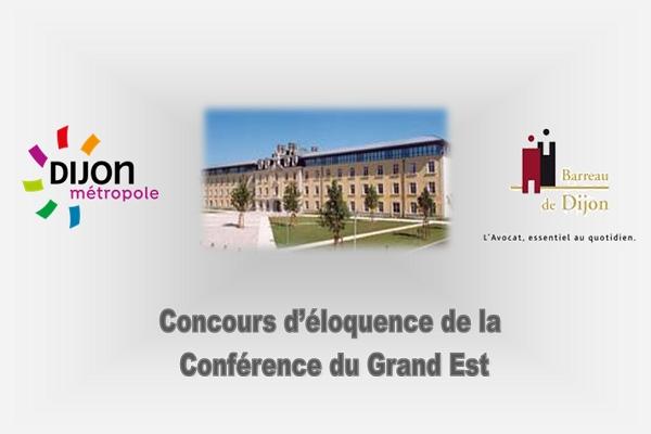 Concours d'éloquence du Grand Est - 7 décembre 2018 - Dijon Métropole