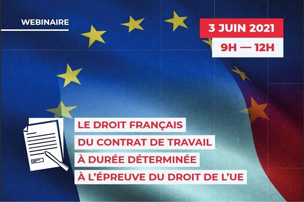 Webinaire co-organisé par le CREDESPO et le CREDIMI - 3 juin 2021 - 9h/12h Teams