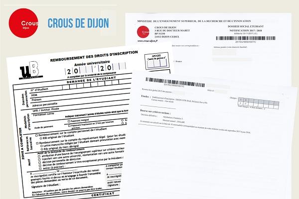 Calendrier Universitaire Uga.Remboursement Des Frais D Inscription Ufr Dsep