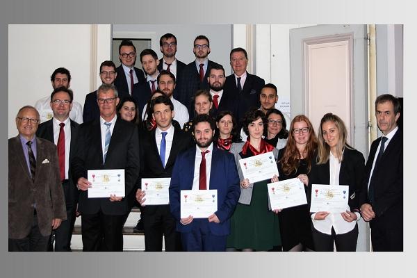 Remise des diplômes aux lauréats du Master FCTG et du D..U
